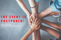 For health safety reasons, the Active Citizens Fund's Launch event is postponed